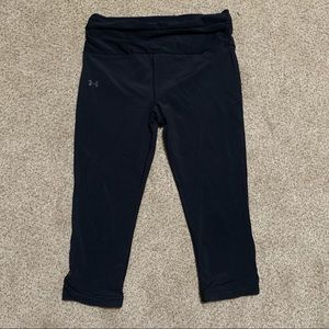 Under Armour Heat Gear Capri Length Workout Pants